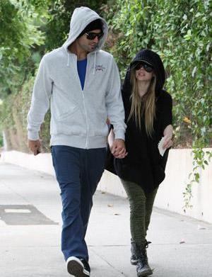 Brody Jenner & Avril Lavigne: Friends
