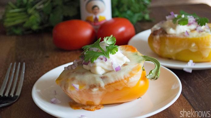 Meatless Monday: Tex-Mex stuffed peppers are