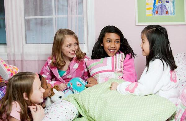 Sleepover survival: How to teach other