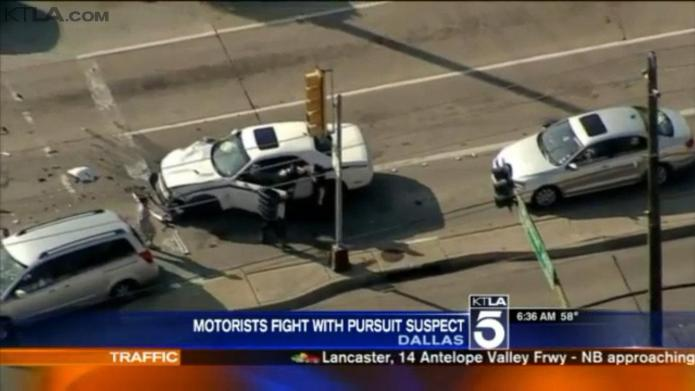 Angry mom takes down carjacking suspect