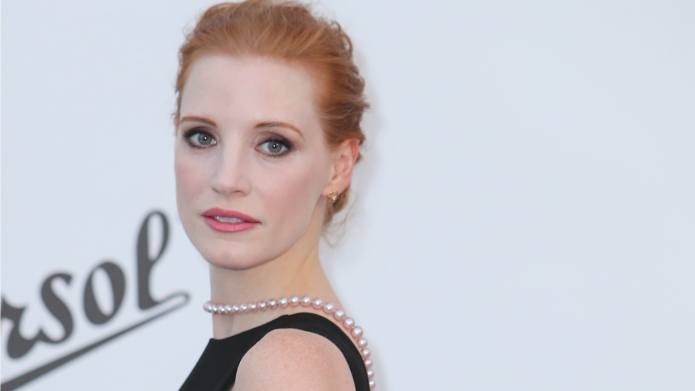 Jessica Chastain in Tears Over 'Alt-Left'