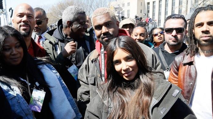 Kim Kardashian West, Kanye West &