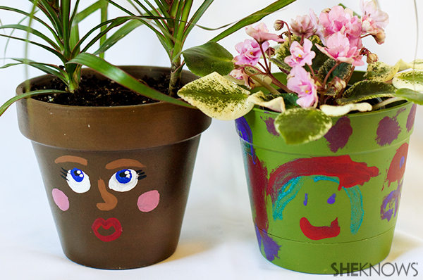 Earth day plant crat | Sheknows.com - plants in the pots