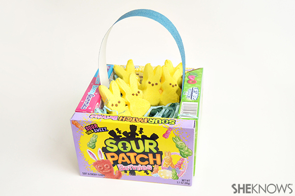 Easter candy craft candy box easter basket | Sheknows.com