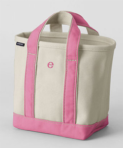 Land's End tote
