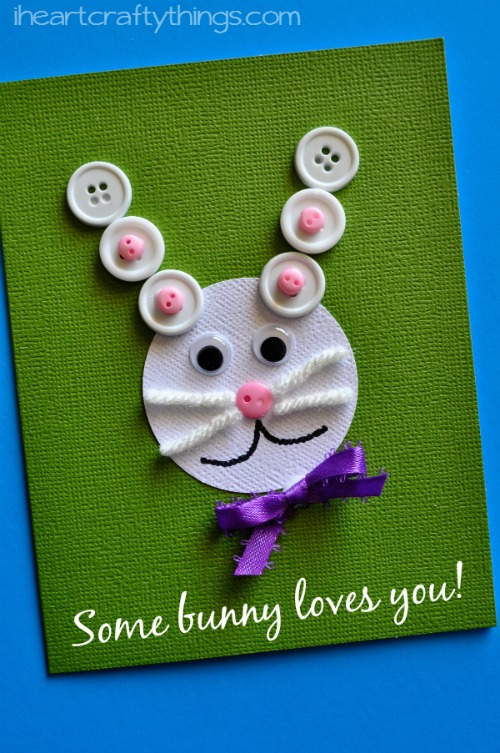 Easter card crafts by I Heart Crafty Things