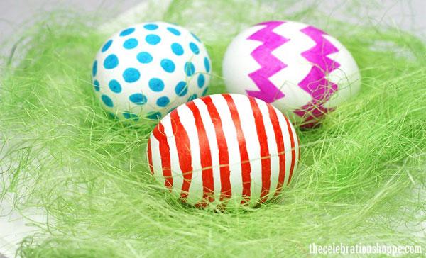 25 Easy Easter crafts for moms: Easter egg 1