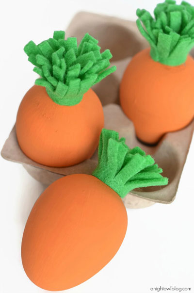 25 Easy Easter crafts for moms: Easter egg 3