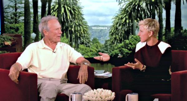 Clint Eastwood, Ellen DeGeneres