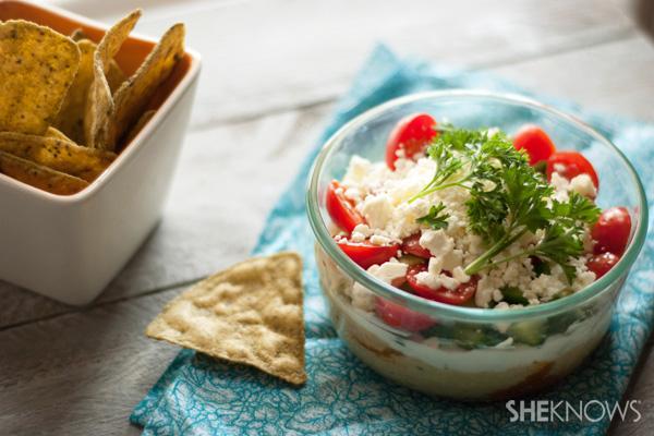 Easy 5 layer Greek dip recipe