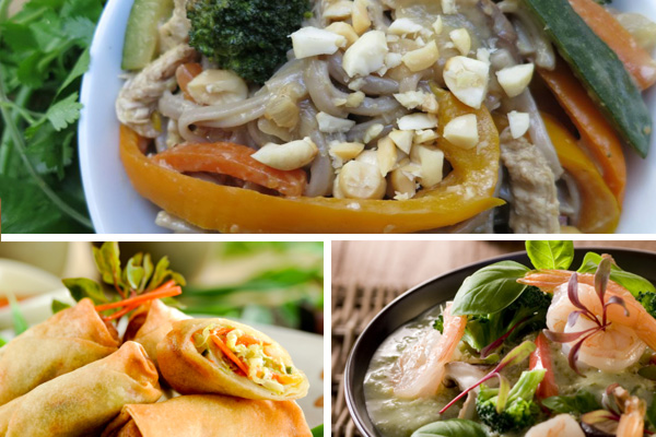 Easy meals to make at home recipe collage
