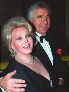 Zsa Zsa Gabor and hubby celebrate
