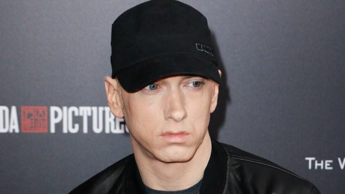 Eminem gets blamed for his sister-in-law's