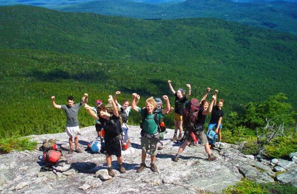 The Appalachian Mountain Club's Teen Wilderness
