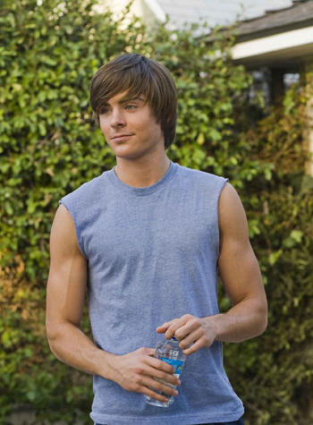 In 17 Again, Efron sets himself apart