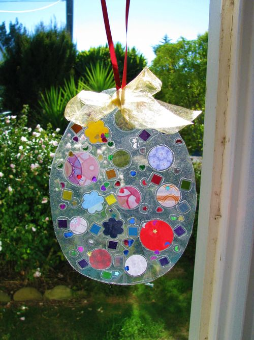 Easter egg suncatcher by Heart Felt