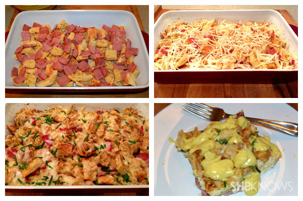 Eggs benedict casserole | Sheknows.ca - Steps 5 - 11