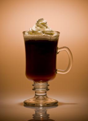 St. Patrick's Day: Vegan Irish Coffee
