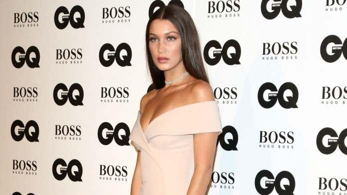 Bella Hadid pulled a Kim Kardashian