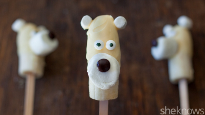 Frozen banana 'polar bears' are the