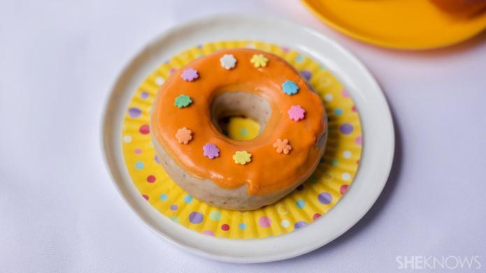 DIY doughnut-shaped soap is good, clean