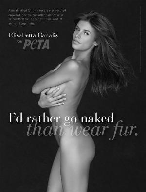 Elisabetta Canalis for PETA