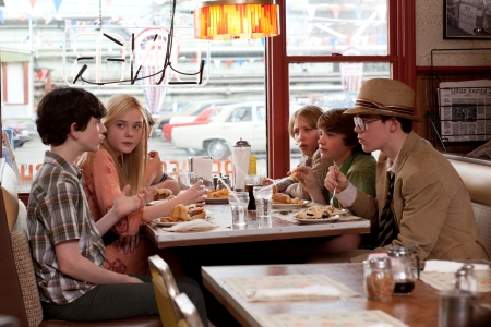 The cast of Super 8