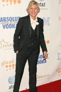 Ellen at the GLAAD Awards