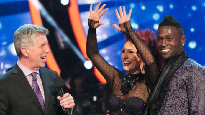 DWTS' Sharna Burgess has a Janet