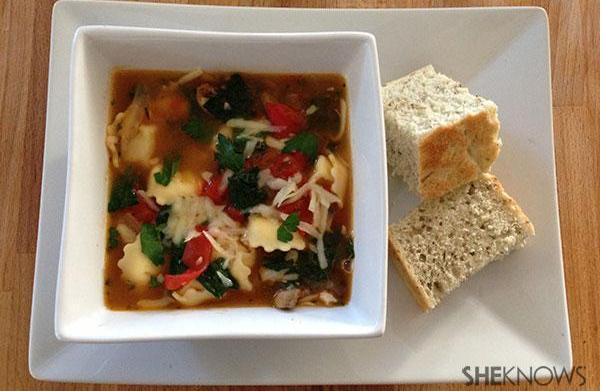 Recipe revamp: Vegetable soup