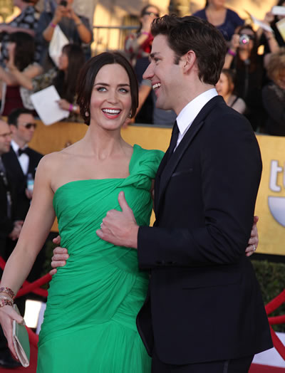 John Krasinski Emily Blunt Wedding.John Krasinski Gushes About Incredible Wife Emily Blunt