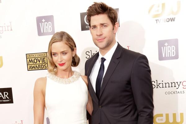 Emily Blunt and John Krasinski, Critic's Choice Awards