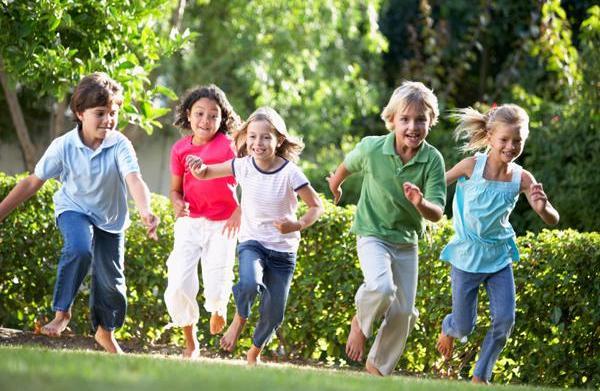Preschool play day: Games that encourage