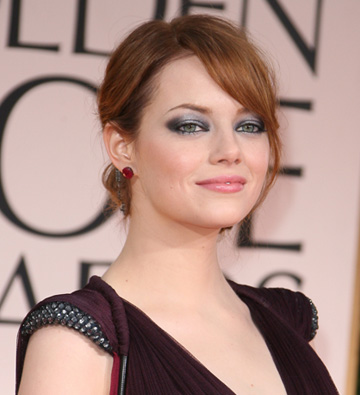 Emma Stone at the 69th Annual Golden Globes