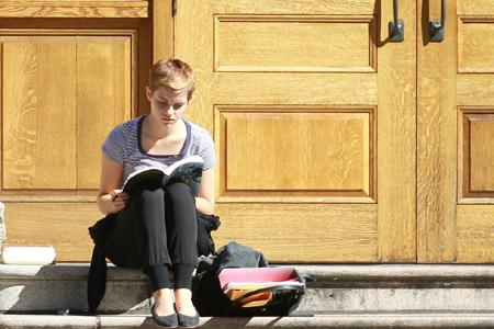 Emma Watson at Brown University