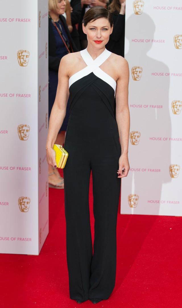 Emma Willis at the TV BAFTAS 2015