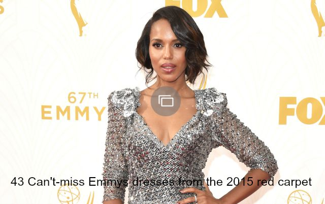 Emmys Fashion Slideshow