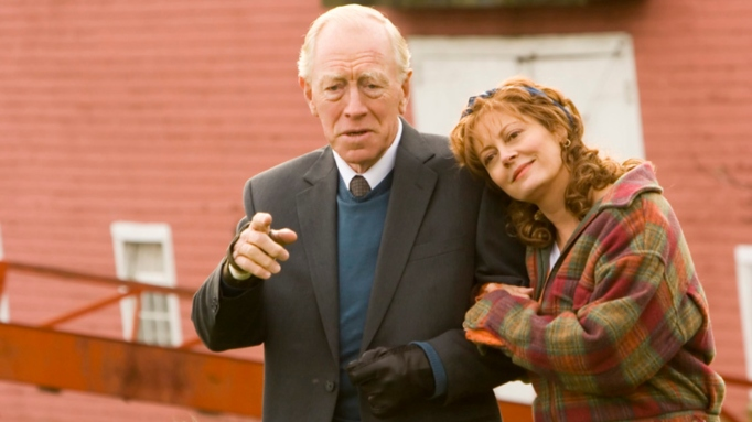Christopher Plummer and Susan Sarandon in 'Emotional Arithmetic.'