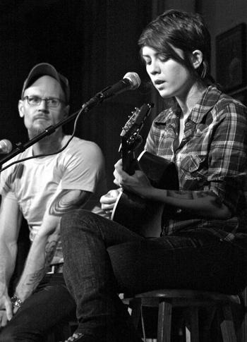 Tegan and Sara with Augusten Burroughs