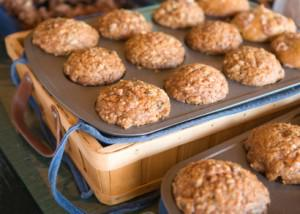 Cashew Butter Orange Muffins