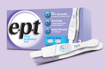 e.p.t. home pregnancy test