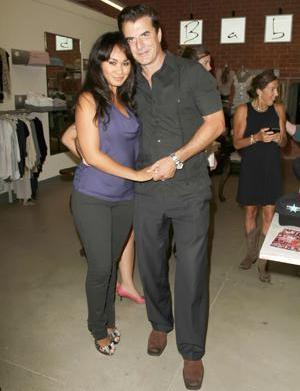 Chris Noth wife his wife Tara