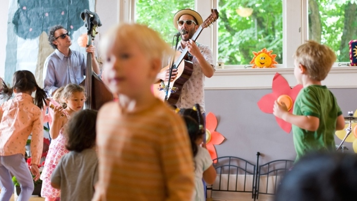 Finally, music created for little kids