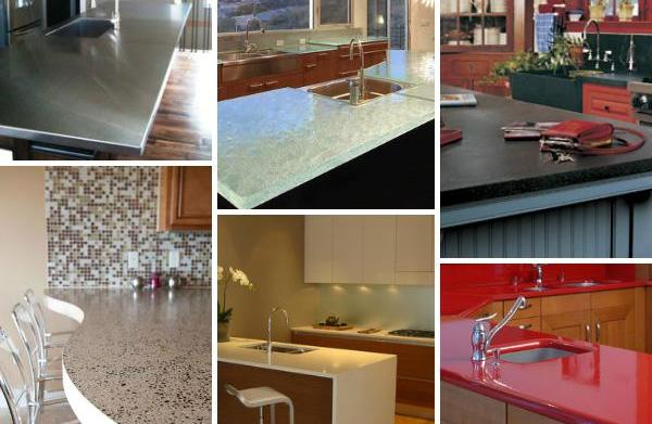 6 Unexpected kitchen countertop trends for