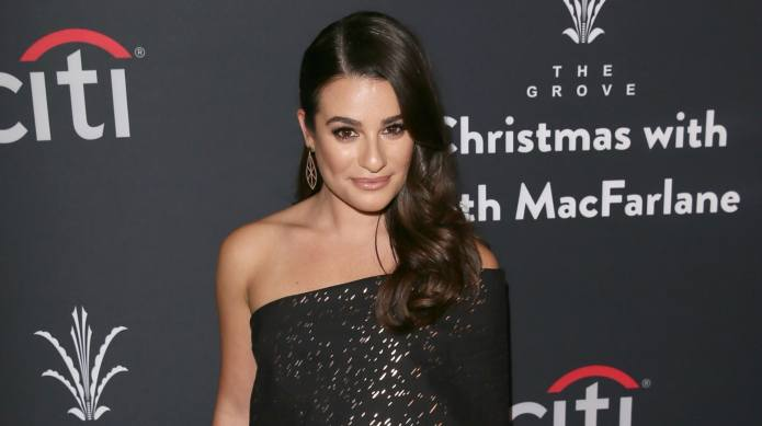 Lea Michele celebrates 2017 by getting
