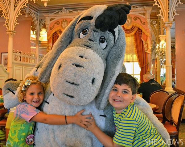 Eliza and Ethan Walmark at Disneyland