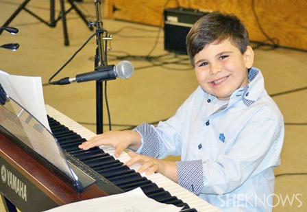 Ethan Walmark on piano