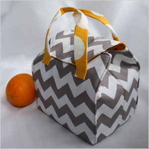 Insulated bento box carrier
