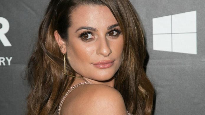 Lea Michele kicks off 2015 by