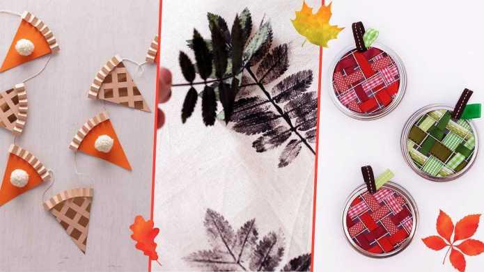 Turkey-Free Thanksgiving Crafts Kids Can Make